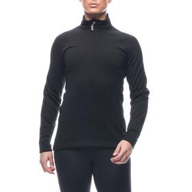 Houdini Wooler Half Zip Sweater Dam true black